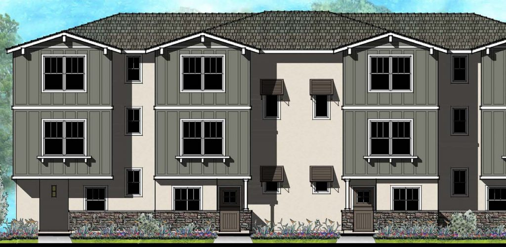 Cielo Living new townhome real estate development in Oceanside
